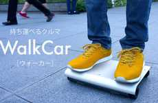 Segway-Mimicking Skateboards