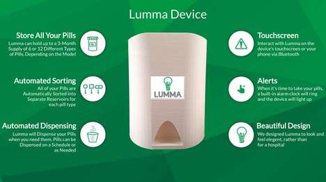 Automated Medication Dispensers - The Lumma Tracks and Dispenses Your Medication