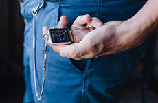 Pocket Smartwatch Concepts - Bucardo Takes a Vintage Approach to the Modern Smartwatch