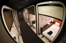 Business-Class Capsule Hotels