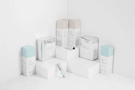 Clinical Cosmetics Branding - Boine Clinic's Brand Identity is Translated with Minimalist Imagery