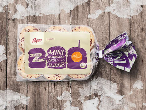 Scandinavian Bakery Rebrands - These Packaging Designs for Pågen Bakery Features Vivid Doodles