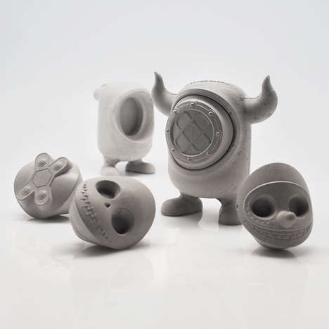 Concrete Monster Toys - The Collectible United Monsters are a Line of Art Toys for Adults