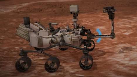 Interactive Martian Rovers - The Experience Curiosity Project Lets You Control the Rover's Arm