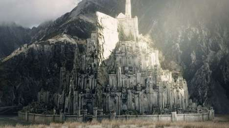 Replica Fantasy Cities - The 'Realise Minas Tirith' Project Aims to Replicate the Lord of the Rings