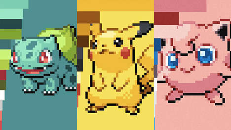 Anime-Inspired Color Palettes - This Website Allows Users to Generate Color Palettes from Pokémon
