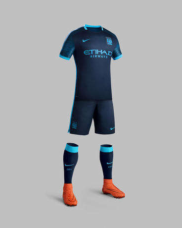 Celestial Soccer Jerseys - The Manchester City Away Kit