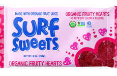Valentine's Day Vitamin Candies - Surf Sweets' Organic Fruity Hearts are a Source of Vitamin C