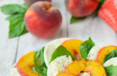Seasonal Salad Variations - This Peach Caprese Salad Recipe is Easy to Make and Perfect for Summer