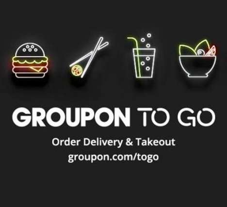 Discounted Food Deliveries - Groupon's Discount Delivery Service Brings Consumers Cheaper Eats