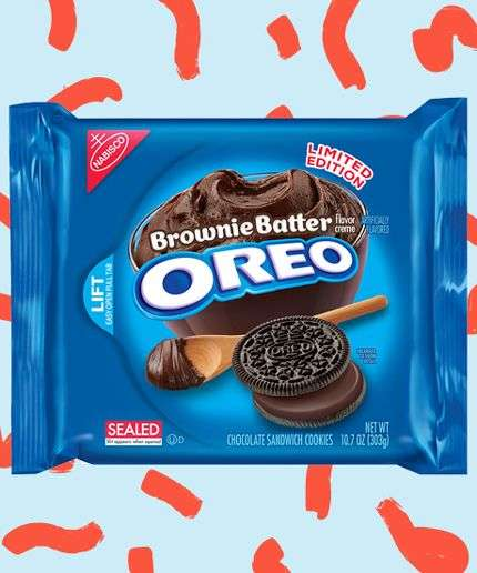 Nostalgic Cookie Treats - These Limited Edition Brownie Batter Oreos Pair Chocolate with Chocolate