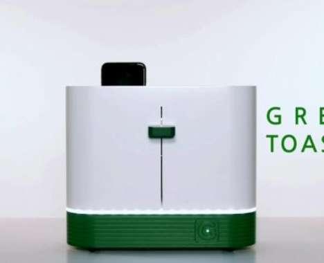 Phone-Sterilizing Toasters