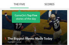 Social Sports Apps - The GameOn App Provides a Place to Chat and Get Real-Time Sports Updates