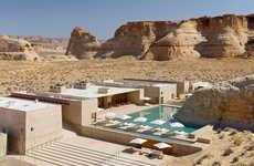 Scenic Desert Resorts - This Luxury Resort Blends an Elegant Accommodation and Desert Views
