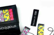 Artist-Inspired Cosmetics - This Vibrant Cosmetics Collection Features Fun Colors and Quirky Designs