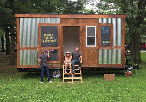 Promotional Artist Trailers - This Mobile Workspace Houses Artists Who Can't Afford Studio Space