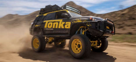 Toy-Inspired Car Makeovers - Tonka Made an Overland SUV Look Like a Life-Sized Toy Monster Truck