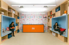 Study Cubby Offices - This Office Boasts Personal Quiet Spaces for Workers to Take Refuge In