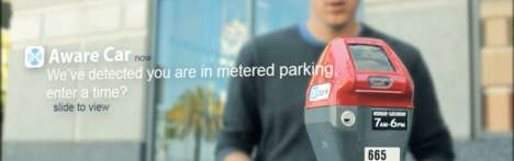 Parked Car Tracking - AwareCar Keeps Tabs on the Location of Your Vehicle and Parking Meter Status