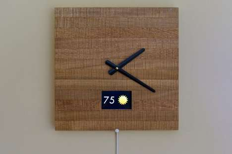 Notifying Smart Clocks - This Smart Wall Clock Design Addresses Hyperconnectivity Problems in Users