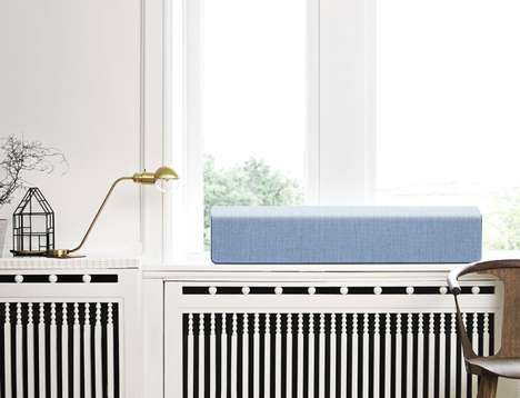 Understated Home Speakers - Vifa's 'Stockholm' Design Downplays the Look of a Simple Speaker