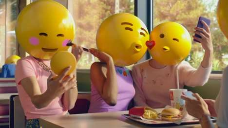 3D Emoji Ads - Mcdonald's France Imagines a World Where Emojis Define Us All