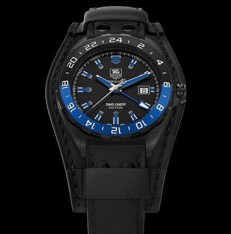 Celebrity DJ Watches - The TAG Heuer Formula 1 David Guetta Timepiece Captures the DJ's Cool Style