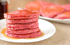 Gluten-Free Beet Pancakes - These Gluten-Free Pancakes Display a Gorgeous Hue and Health Benefits