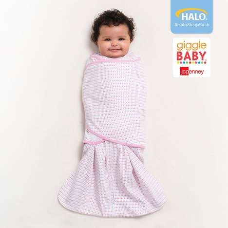 Sleep-Inducing Baby Blankets - The HALO SleepSack is a Wearable Blanket That Encourages Infant Sleep