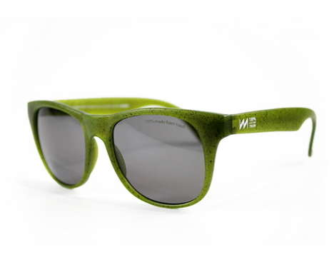 Recycled Trash Sunglases - Each Pair of 'RE-View' Sunglasses is Made Using Two Recycled CD or DVDs