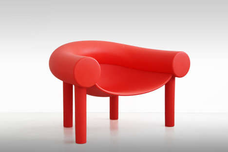 Cartoon-Like Furniture - This Italian Designer Releases a Cartoon-Inspired Chair