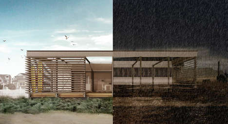 Flood-Resistant Homes - This Durable Beach House is Designed to Withstand Powerful Storms