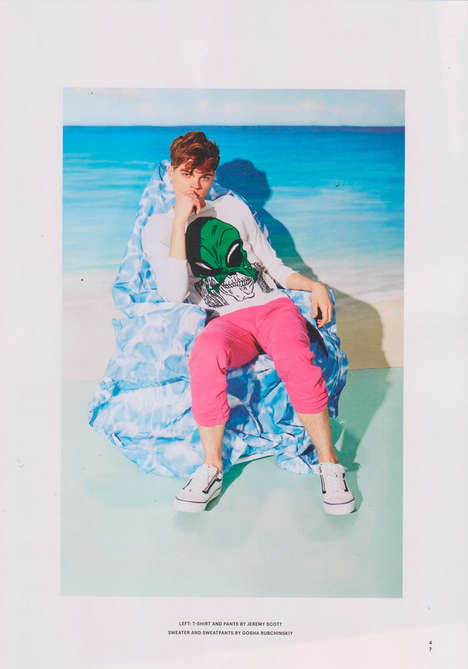 Tropical Menswear Editorials - Complex Magazine's 'Hot Tropic' Series Highlights Beach-Ready Apparel