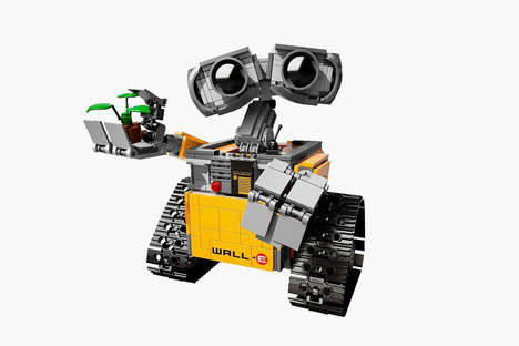 Robot LEGO Toys - LEGO Collaborates with Disney to Release a Wall-E Collection