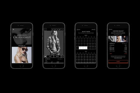 Model-Booking Apps - This Modeling App Lets Companies Book Models Directly Without Agencies