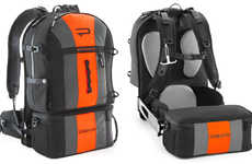 Easily Accessible Backpacks - The 'Paxis' Provides Quick Access to Items in Your Outdoor Backpack