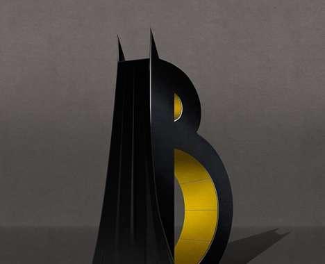Superhero-Inspired Typography