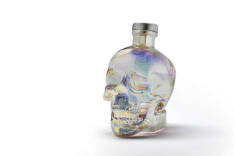 Diamond-Filtered Vodka - This Limited Edition Aurora Vodka by Crystal Head Uses a Wheat Base