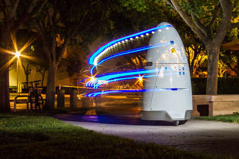 Cost-Effective Security Robots - The 'Knightscope' Robot Patrols Corporate Grounds Continuously