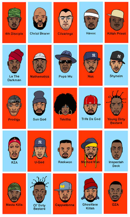 Hip-Hop Guessing Games - 'Guess Wu?' is a Wu Tang Clan-Inspired Board Game
