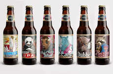 Anthropomorphic Beer Logos