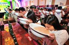 Beer-Chugging Park Admissions - This Chinese Resort Holds Beer Chugging Races to Gain Free Entry