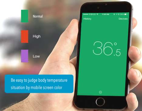 Programmable Thermometer Apps - The iDo Smart Thermometer System Includes an Open SDK