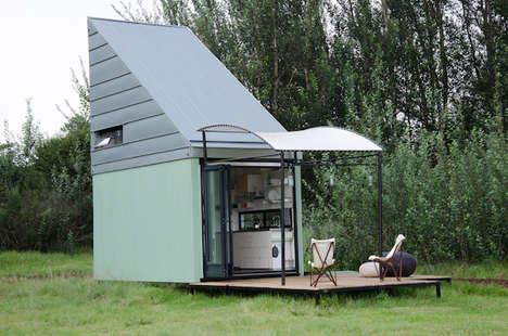 Mini DIY Homes - This Tiny, Portable House is Delivered to You and Ready for Assembly