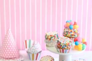 This Fairy Bread Party Cake Mocks the Look of Wonder Bread