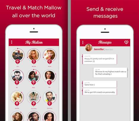 Personality-Focused Dating Apps - 'Matchmallows' Serves as an Anti-Materialistic Dating App