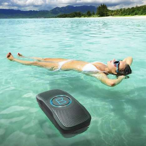 Versatile Floating Speakers - Monster's 'Backfloat' Speaker Boasts Durable Waterproof Features