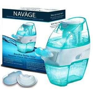 Nose-Purging Contraptions - The Naväge Nasal Irrigation System Swiftly Relieves Sinus Congestion