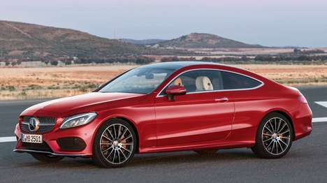 Slinky Sports Cars - The New Mercedes C-Class Coupe is Sportier Than Ever