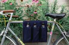 6-Pack Bicycle Carriers - United by Blue's Device Makes It Possible to Handle Bikes and Beer at Once